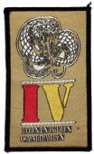 Whitesnake 'Donington Campaign' Woven Patch